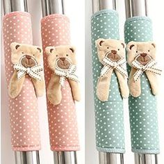 KISENG Cute bear Refrigerator Kitchen Appliance Handle Covers Two pairs ¡­