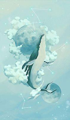 Kawaii Drawings, Art Drawings, Art Blue, Whale Tattoos, Underwater Art, Simple Canvas Paintings, Whale Art, Wale, Inspirational Wallpapers