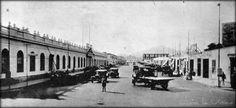 Av. Santa Teresa, hoy Abancay. A la izquierda el Hospital Italiano. Fuente: Lima la Unica