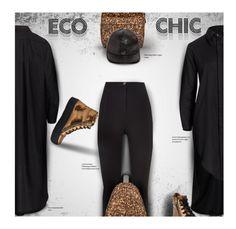 """Eco Chic: Featuring Umasan, Stella McCartney, People Tree, Matt and Nat, and Nae Vegan"" by kurious ❤ liked on Polyvore featuring UmaSan and STELLA McCARTNEY"