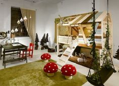 : Cool Kids Playroom Ideas