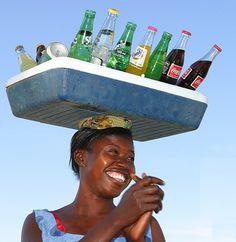 "Burkina Faso | ""African Coke Dispenser"" by Sune Wendelboe"