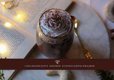 Lieblingsrezepte von unseren Schokoladen-Liebhabern: Dieser himmlische Schokoladen-Macchiato wurde von unserer Schokoladen-Liebhaberin Ellen gezaubert Kakao, Coffee, City, Tableware, Kaffee, Dinnerware, Tablewares, Cup Of Coffee, Cities