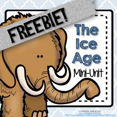 This freebie product includes a non-fiction passage about the woolly mammoth with comprehension questions and a great label me activity. This will give you a small glimpse of my complete Ice Age unit also available in my store. I hope you enjoy this freebie!