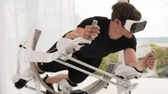 Virtual reality hits the gym. Will it make working out more fun?