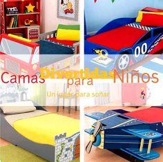 Camas_Divertidas_y_Originales_para_Niños_PintandoUnaMama