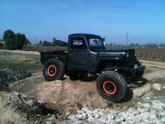 Some Willy's Truck Jeep Pickup, Jeep 4x4, Jeep Truck, Cool Trucks, Pickup Trucks, Willys Wagon, Jeep Willys, Willis Pickup, Classic Trucks