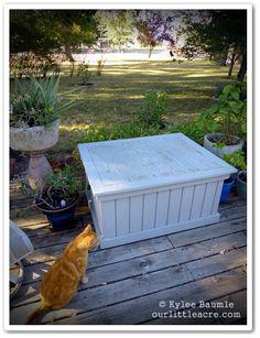 "Our Little Acre: ""Lowe's Creative Ideas - Furniture Rehab Project - Part One""    Lowe's Creative Ideas: http://lowescreativeideas.com/"