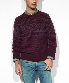 dark sweater