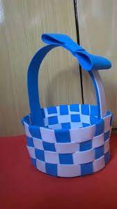 Resultado de imagen para cesta em eva para bebe