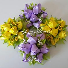1 million+ Stunning Free Images to Use Anywhere Kanzashi Flowers, Diy Flowers, Fabric Flowers, Paper Flowers, How To Make Ribbon, Ribbon Work, Flower Patterns, Flower Designs, Material Flowers