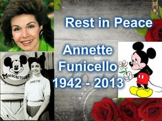 Annette Funicello ( 1942-2013) Ms Funicello suffered from M.S for years, she was 71 yrs when she passed