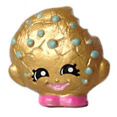 Exclusive, Limited Edition Gold Kooky Cookie from Shopkins Season 5