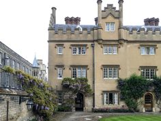 Sidney Sussex at Cambridge University, England   Each college has it's own deep history, unique architecture, and stunning grounds and gardens to explore.