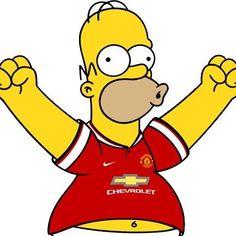 Homer Simpson - Manchester United