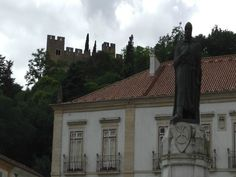 Gualdim Pais was responsible for the construction of the castle and Convent of Christ and you can find his statue in the historic centre of Tomar.