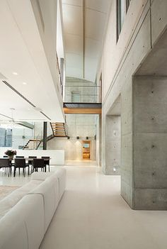 Polished Concrete Walls Design Ideas, Pictures, Remodel, and Decor - page 8