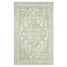 Dynamic Rugs Borgia Mint Wool Area Rug (8' x 11')