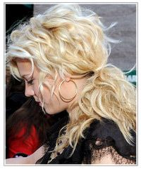 Kimberly Perry curly ponytail - to die for!