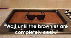 your brownies are done.