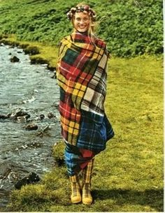 I'm ready for a VERY early morning walk thru the highlands. And, look, I'm wearing a great tartan blanket. Uh,  Darling, did you bring coffee? & some whisky?.............................
