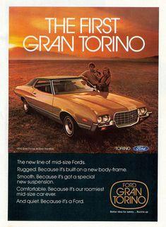 1972 Ford Gran Torino 2 Door Hardtop