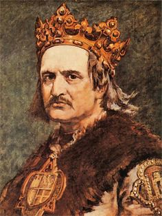 Władysław Jagiełło (king of Poland) The king of Poland, a history painting. The artist also focuses on the realism of the man but also adding idealization by adding their style to the painting. Classic Paintings, Great Paintings, European History, Art History, Monuments, Poland History, Old Portraits, Early Middle Ages, Art Database
