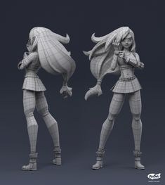 Zbrush Character, 3d Model Character, Character Poses, Character Modeling, Game Character, Character Concept, Maya Modeling, Blender 3d, Blender Models