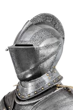A North Italian Etched Light Cavalry Armour, c. 1560-80
