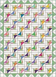 Newport Fantasy Quilt Pattern | Craftsy