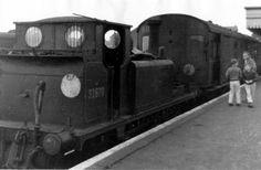 at Hayling 5 Sept 63 Southern Trains, Severn Valley, British Rail, Steam Locomotive, Train Tracks, Indiana Jones, Britain, Engine, Terrier
