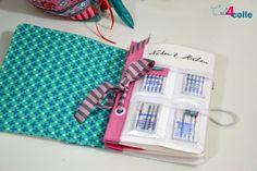 Sicher habt ihr alle schon eine Nadelbuch. Natürlich habe ich auch eins. Ein ganz besonders hübsches sogar. Mit Seiten aus Filz wo ein pa...