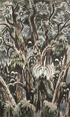 Song Of The Tree Cricket > Charles Burchfield