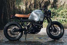 'Rising' Yamaha XT600 – Ad Hoc Cafe Racers