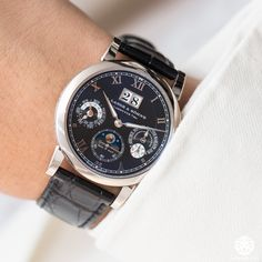 New A. Lange & Sohne Langematik Perpetual Calendar - Live From Watches & Wonders - WATCH ANISH