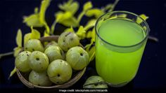 Latest News for Amla Recipes: 4 Delicious Recipes Prepared Using The Nutritious Indian Gooseberries . About Amla Murabba Recipe Amla Recipes, Detox Recipes, Fruit Recipes, Ayurvedic Home Remedies, Ginger Juice, Food Picks, Keto Drink, Green Fruit, Fruit In Season
