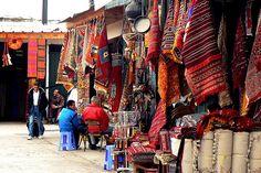 Rabat Carpet Market (Morocco)