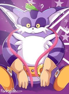Big the cat and Froggy Big The Cat, Sonic The Hedgehog, Sonic Heroes, Drawing Games, Sonic Art, Sonic Boom, Archie Comics, Super Smash Bros, Love Pictures