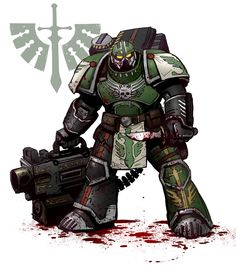 Dark Angel Heavy bolter Devastator