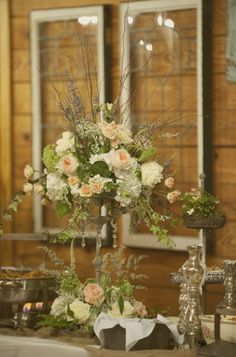 Style Me Pretty | Gallery  Lovely arrangement