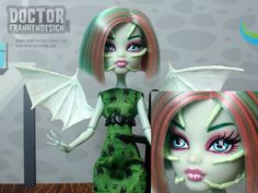 Custom Monster High Doll Inspired by the Creeper from Jeepers Creepers by Doctor Frankendesign www.DoctorFrankendesign.com