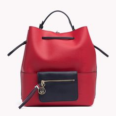 Tommy Hilfiger Bucket Bag backpack - tommy red   tommy navy (Red) - e615ed84575d4