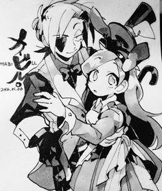Art by ごもく (@gomoku1) aka Gomoku569 — Tumblr | Mabill — Wonderland Crossover | Twitter