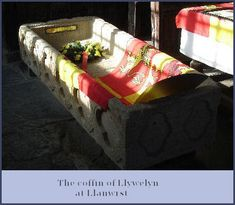 Coffin of Llywelyn the Great