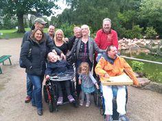 Chrisi und seine Familie feiert durch unsere Unterstützung seinen Geburtstag bei Hagenbeck