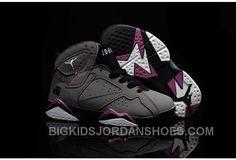 sports shoes 36355 6e310 New 2016 Nike Air Jordan 7 Retro GS Valentines Day AJ Sneakers Kids  Basketball Shoes 705417-016
