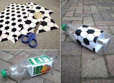 Neat idea for my nieces soccer team.