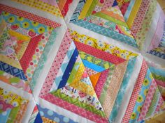 Colorful Scrappy Quilt - Got Scraps? 6 Fun Ideas for Putting Your Leftover Fabrics to Use