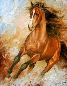 Pinturas de Caballos / Cuadros con Caballos. Pintor Arthur Braginsky, Nació en el Año 1965, Mukacheve, Transcarpatia, Ucrania.