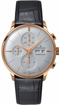 @junghansgermany  Watch Meister Chronoscope #bezel-fixed #bracelet-strap-alligator #case-depth-13-9mm #case-material-rose-gold #case-width-40-7mm #chronograph-yes #date-yes #day-yes #delivery-timescale-call-us #description-done #dial-colour-silver #gender-mens #limited-code #luxury #movement-automatic #official-stockist-for-junghans-watches #packaging-junghans-watch-packaging #style-dress #subcat-meister #supplier-model-no-027-7323-01 #warranty-junghans-official-2-year-guarantee #wate...